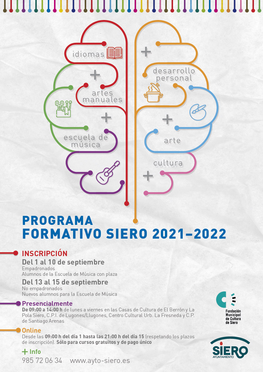 Cartel Programa Formativo 2021-2022
